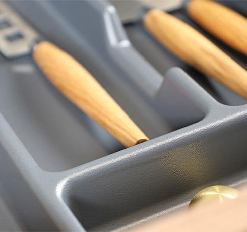 Organize Storage with Drawer Inserts