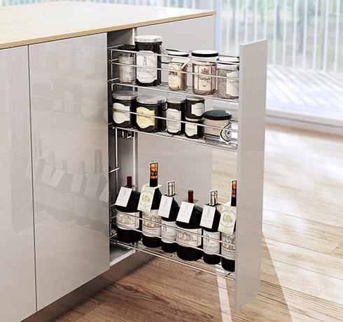 Kitchen Cabinet Storage Solutions - Creative Kitchen Storage Ideas