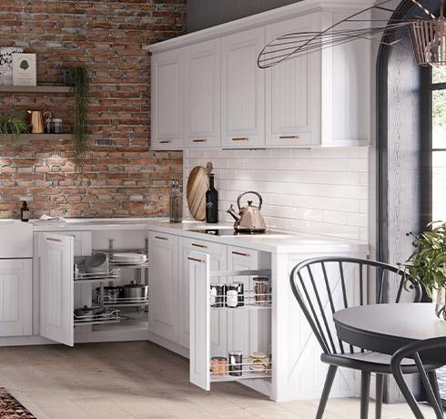 Modernized wall cabinets