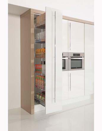 MAXIMA Kitchen Pull Out Larder-chrome