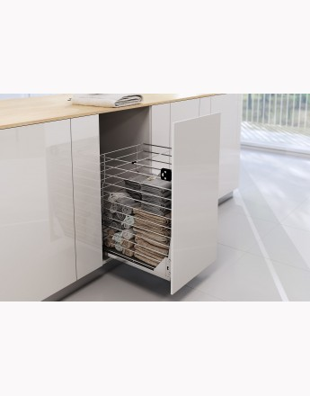 Soft Close Basket Variant Multi - 300, 400 and 500mm - LAUNDRY