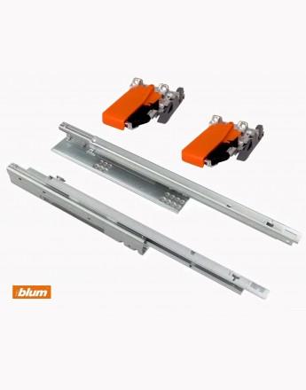 Single extension BLUM TANDEM drawer runners 550F - Sizes 300mm-600mm
