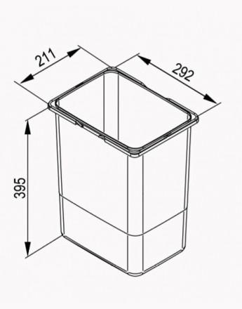 Bucket for our Bins (JC601, JC602, JC603, JC604)
