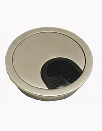 Metal desk cable grommet - Ø 60 mm, Ø 80 mm