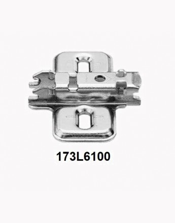 BLUM hinges and plates (95°, 110°, 155°, 170°)