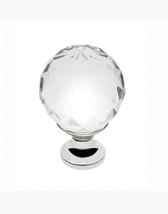CRYSTAL PALACE - kitchen, bedroom and office cabinet door knob