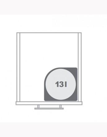 Automatic waste bin - kitchen cupboard storage - under sink 13l