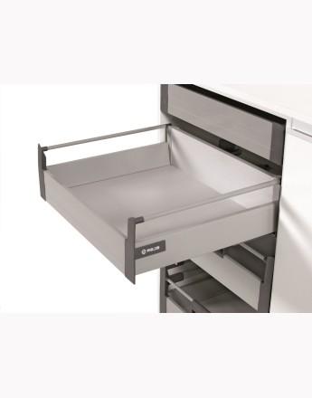 COMFORT BOX - round railing L-1100mm metal, silver (TH03.0354.01.002)